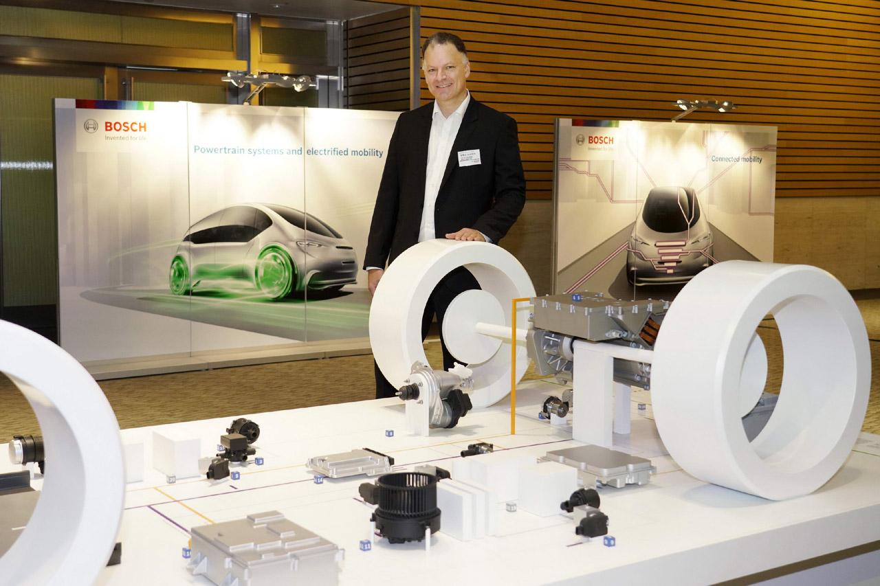 사진3-한국 보쉬, 전기차를 위한 새로운 파워트레인 시스템 eAxle 선보여