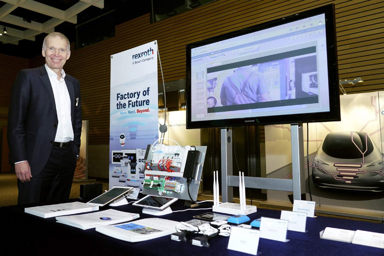 사진4-한국 보쉬, 스마트 공장 구현을 위한 IoT 기술 전시