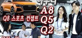 [부산모터쇼] 아우디 Q8 컨셉트, A8, Q5, Q2, 일레인, 유경욱 선수 인터뷰 Audi Q5