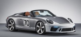 포르쉐 AG, 창립 70주년 기념 강력한 파워의 '911 스피드스터 콘셉트 모델' 공개