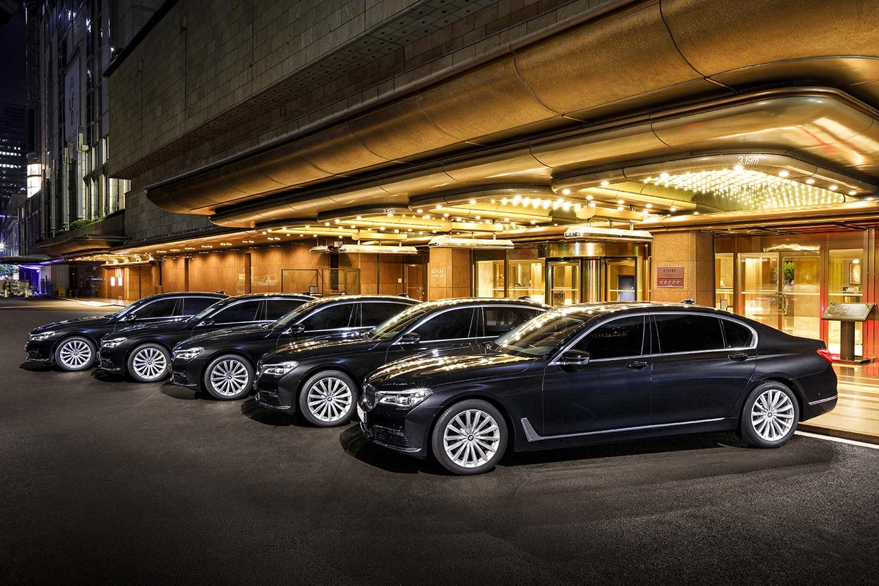 사진 - BMW 롯데호텔 7시리즈 의전차 공급a