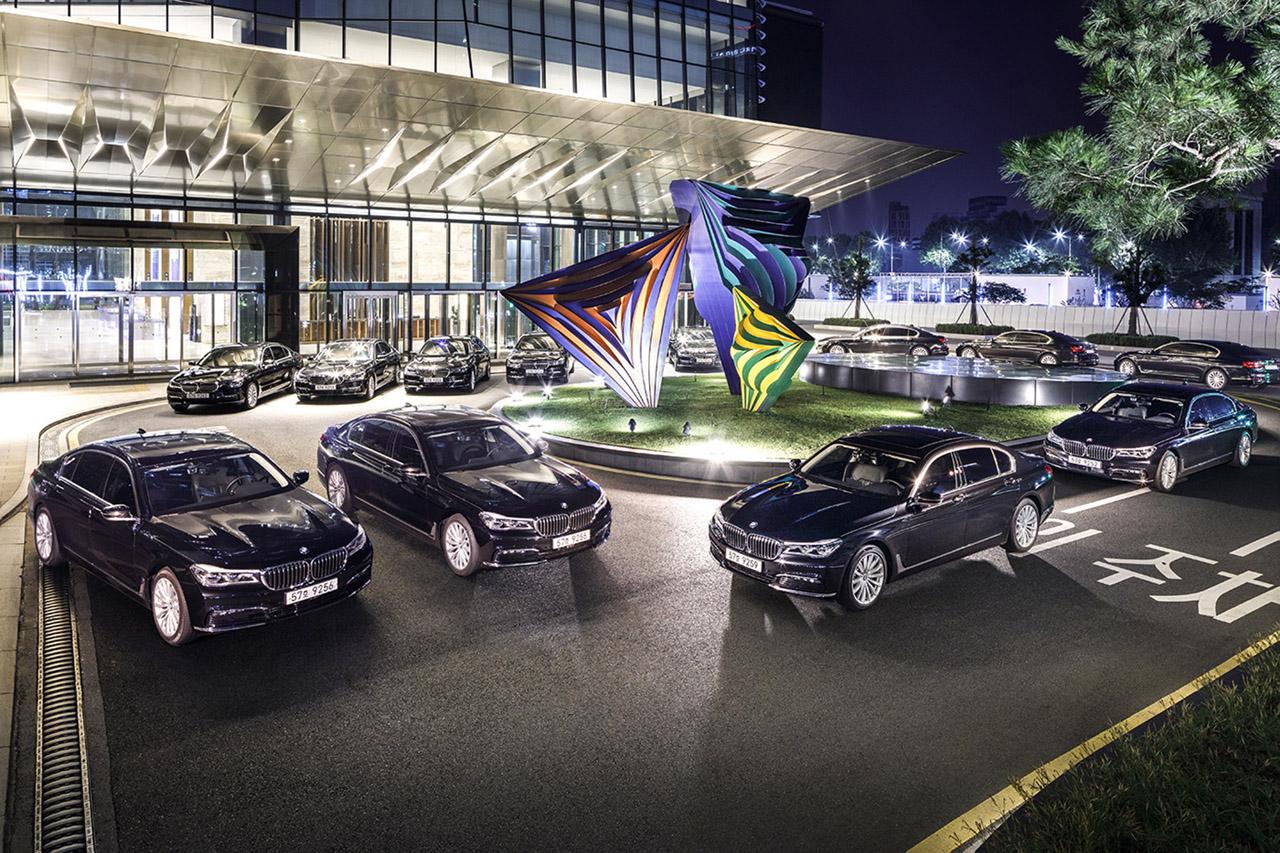 사진-BMW 인터콘티넨탈호텔 7시리즈 의전차 공급