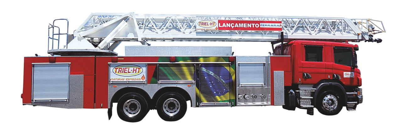 [사진자료] 앨리슨 트랜스미션, 브라질 42미터 고가 사다리 소방차에 전자동변속기 공급