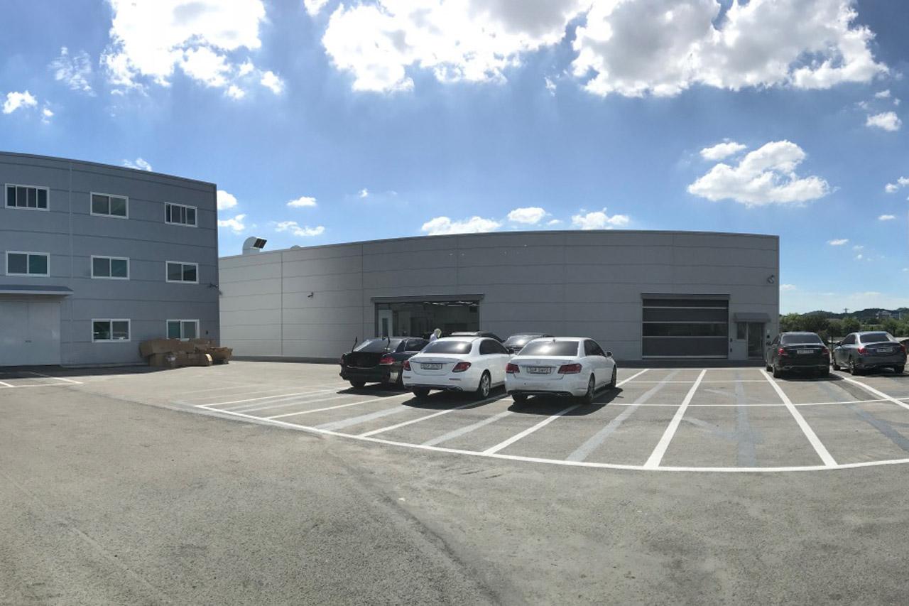 [사진 2] 메르세데스-벤츠 원주 사고수리전문 서비스센터