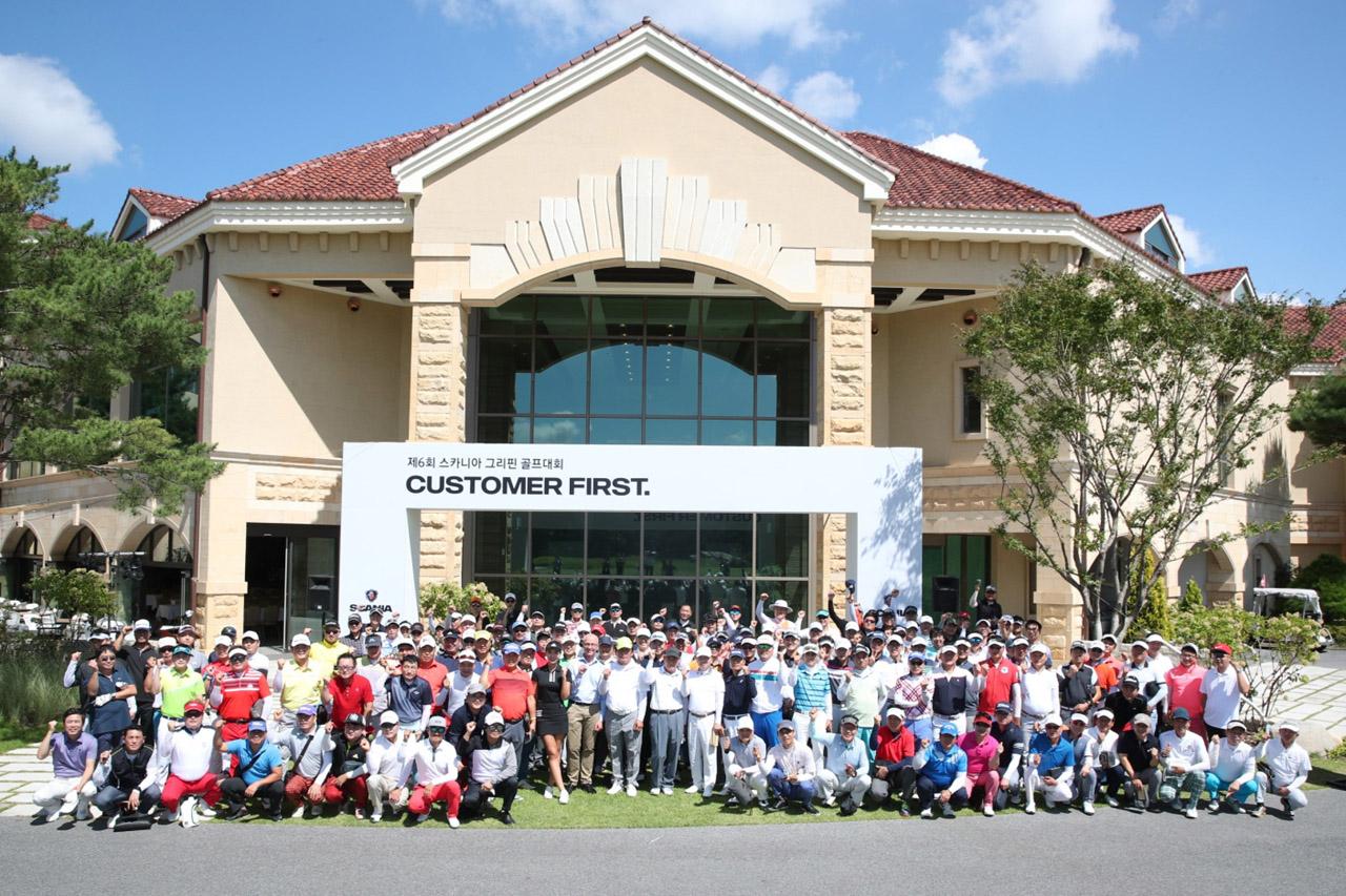 [사진 1] 스카니아코리아, 고객 소통 위한 제6회 그리핀 골프대회 개최