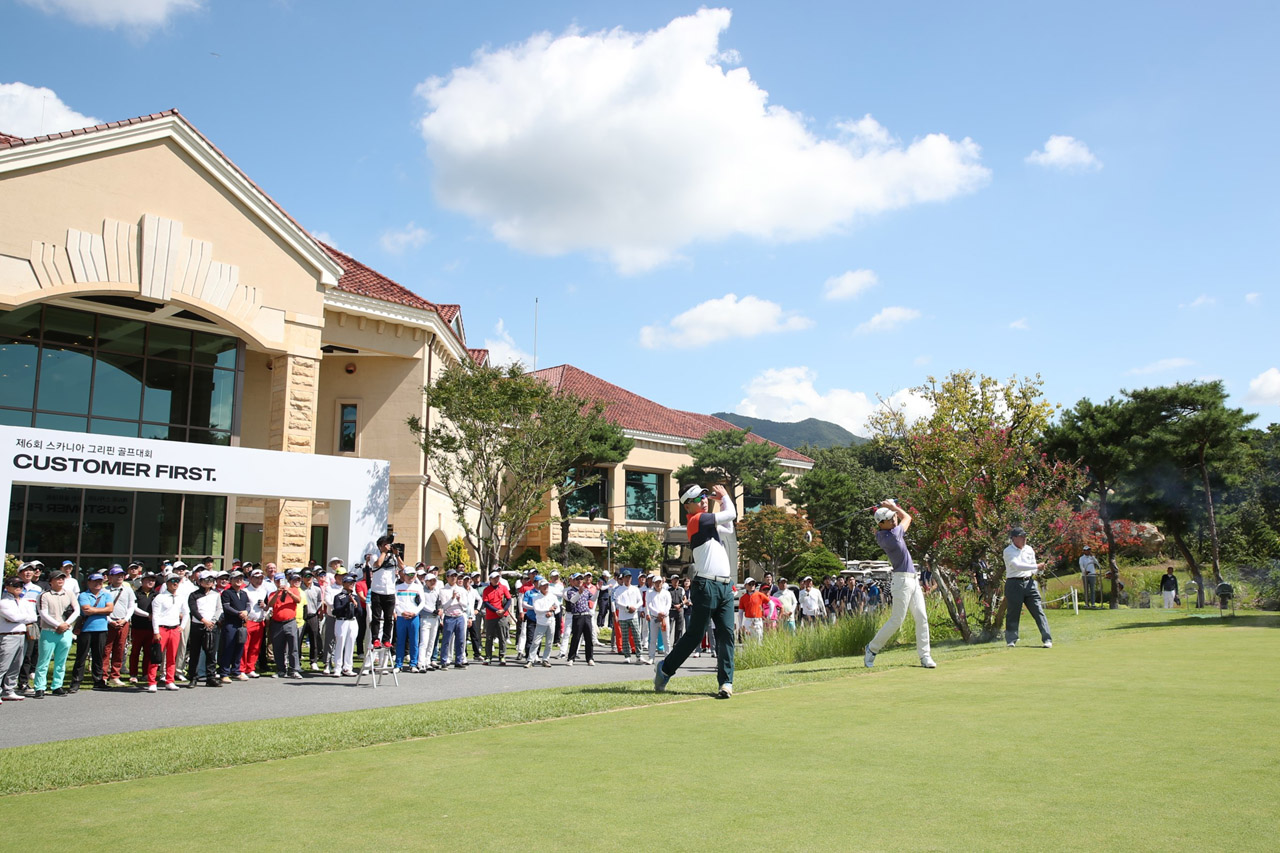 [사진 2] 스카니아코리아, 고객 소통 위한 제6회 그리핀 골프대회 개최