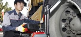 금호타이어, 트럭버스용 타이어 무상점검 서비스 실시