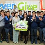 한국지엠한마음재단, '희망의 집 짓기' 후원금 전달