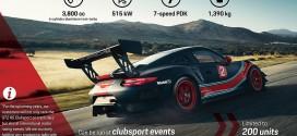포르쉐, 공도와 서킷 모두 섭렵할 911 GT2 RS 클럽스포츠 공개