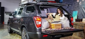 쌍용자동차, 렉스턴 스포츠 칸 공식 출시. 가격은 2,838~3,367만원