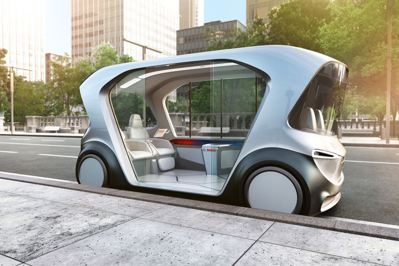 사진-보쉬 CES 2019-세계 최초, 새로운 종류의 모빌리티를 위한 보쉬 컨셉 차량