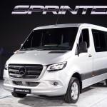 메르세데스-벤츠 뉴 스프린터(The new Sprinter), 국내 시장에 출시