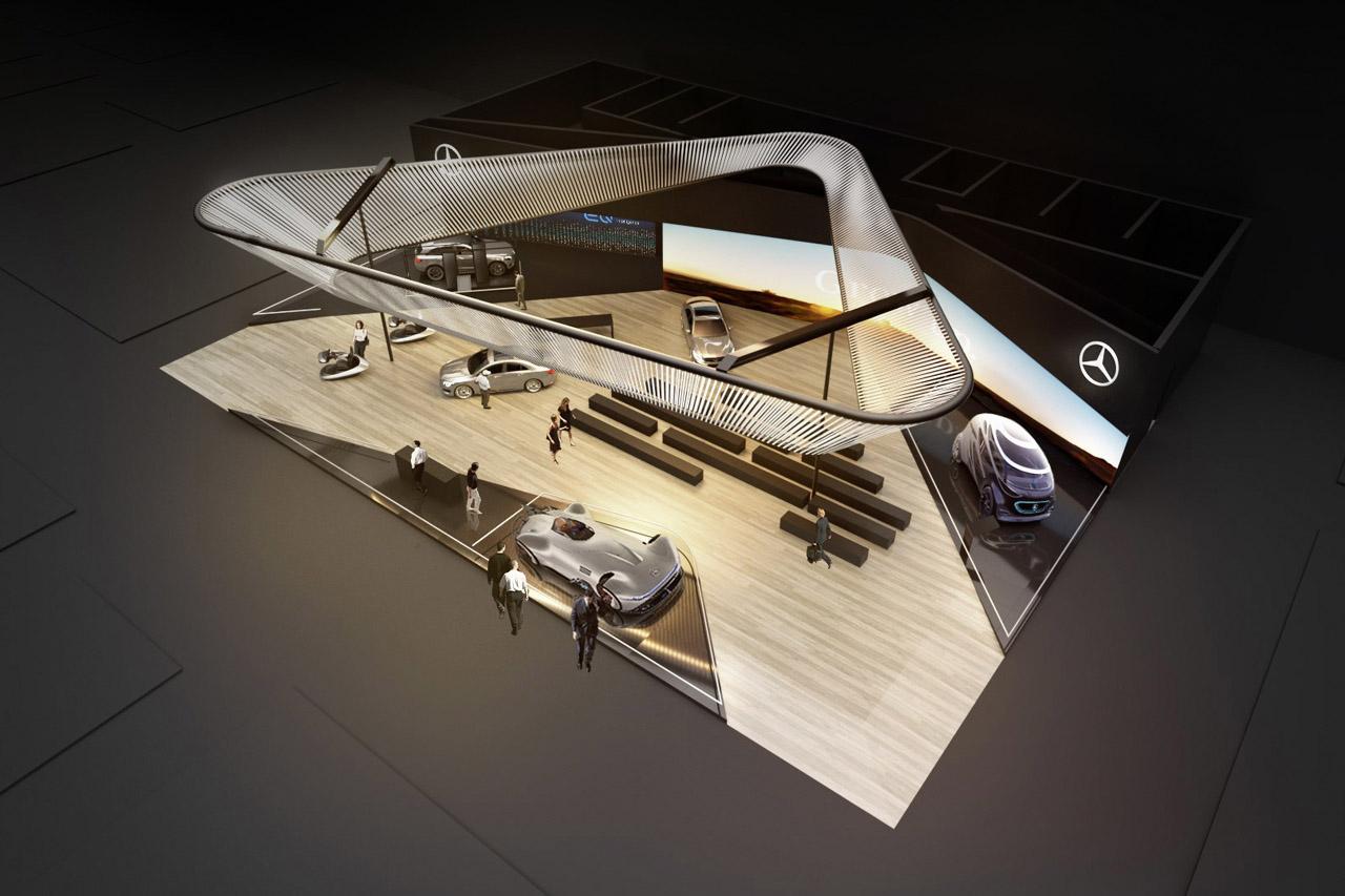 Daimler auf der Consumer Electronics Show 2019 Daimler at Consumer Electronics Show 2019