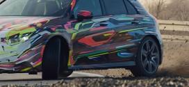 신형 AMG A 45, 드리프트 하는 티저 영상 공개