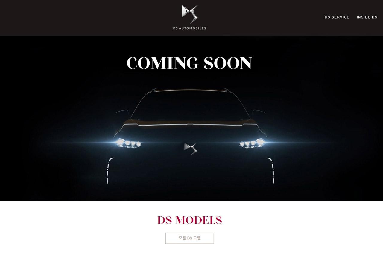 DS 공식 홈페이지