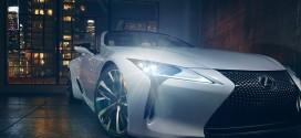 '렉서스 LC 컨버터블 컨셉', 디트로이트 오토쇼에서 공개