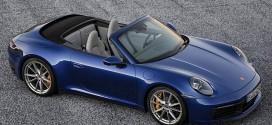 포르쉐, 근육질의 신형 911 카브리올레 공개