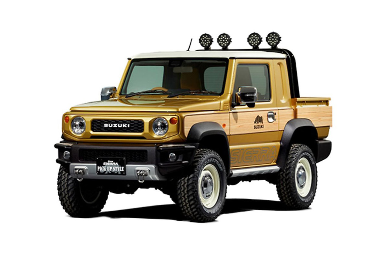 Suzuki-Jimny-pickup-truck-concept-for-Tokyo-Auto-Salon-2019