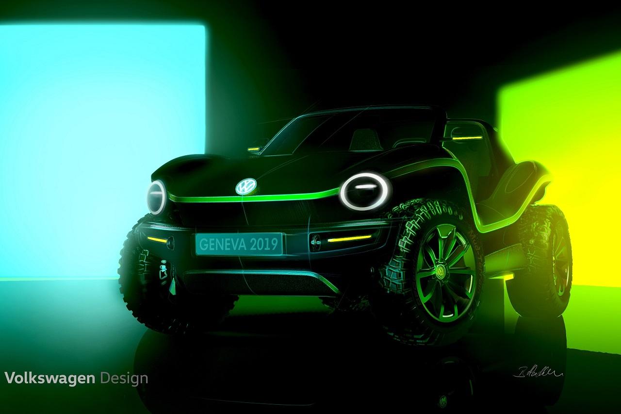 버기(Buggy)를 모델로 한 순수 전기 컨셉카(1)