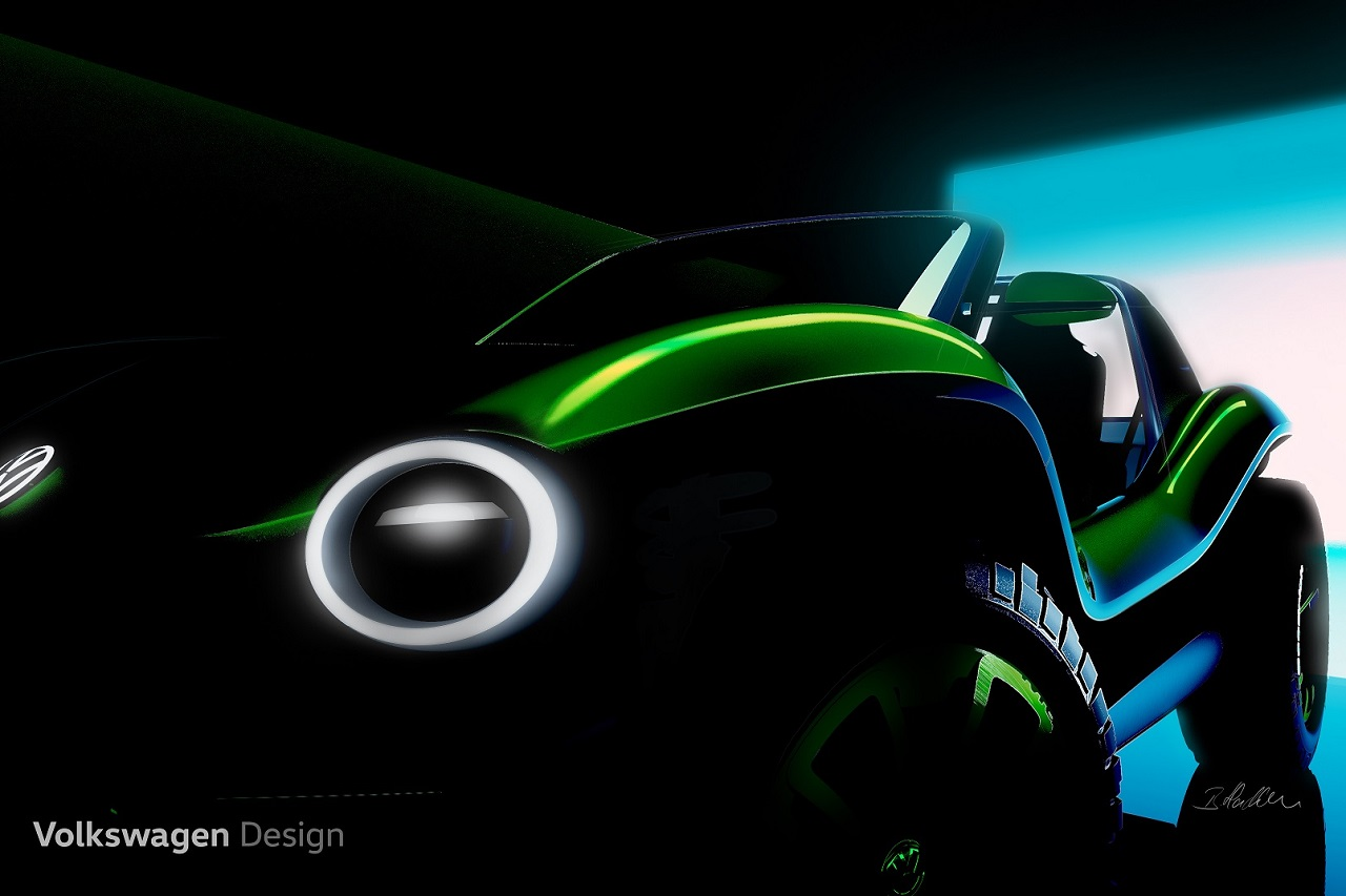 버기(Buggy)를 모델로 한 순수 전기 컨셉카(2)