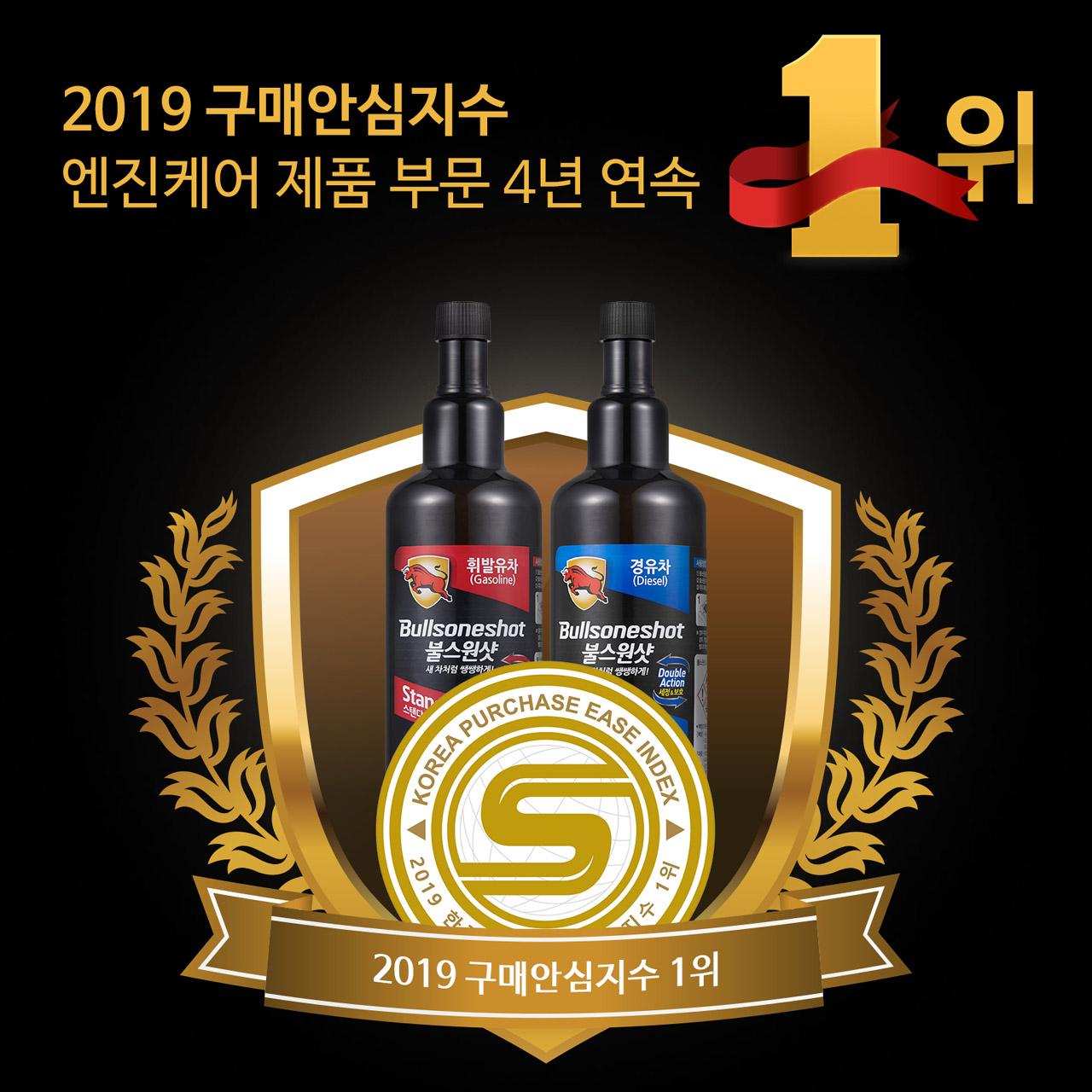 [불스원] 불스원샷 _2019 구매안심지수_ 4년 연속 1위 선정