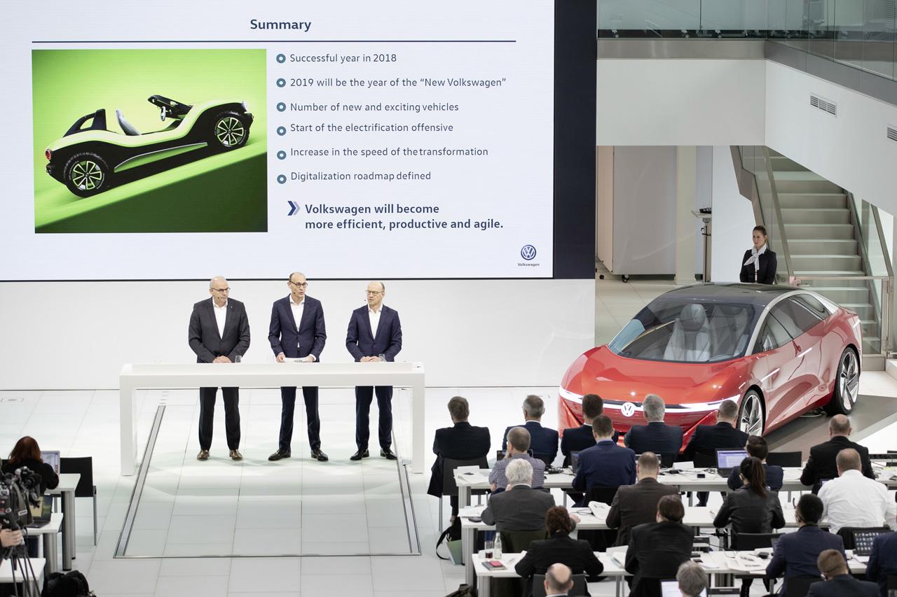Marke Volkswagen - Jahrespressekonferenz 2019
