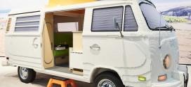 폭스바겐, 실제 크기의 레고 T2 캠핑카 공개