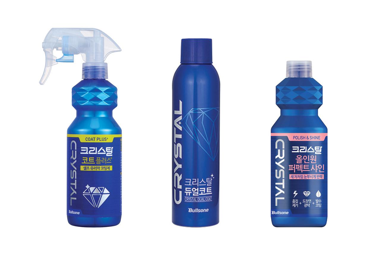 [불스원] 크리스탈 브랜드 신제품 3종