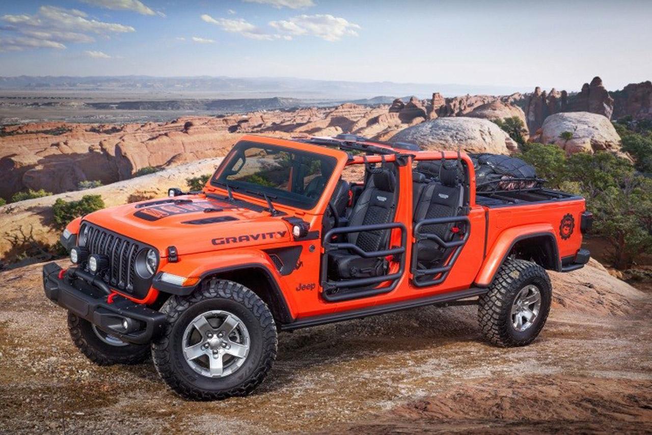 사진-지프 글래디에이터 그래비티(Jeep Gladiator Gravity)