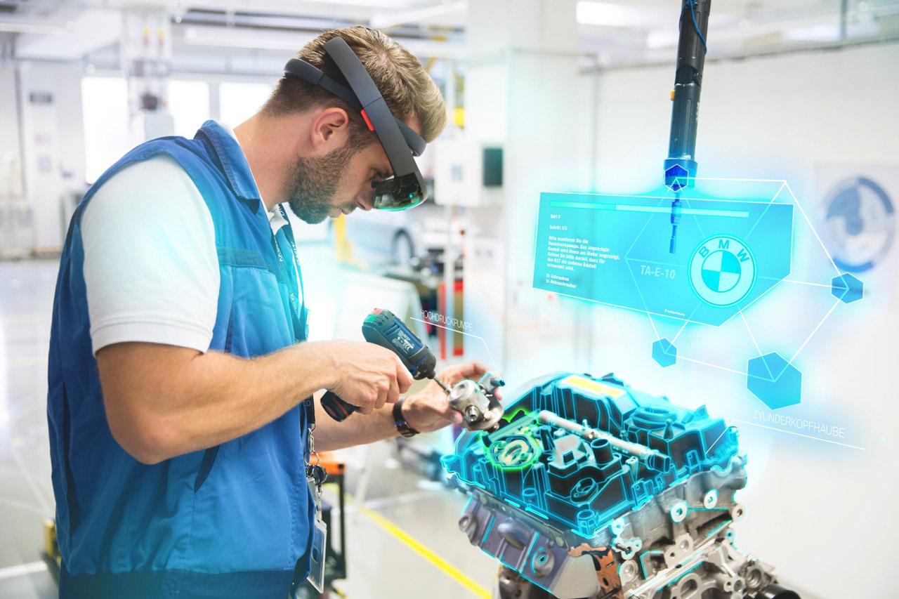 사진 - BMW 그룹, 가상현실과 증강현실 도입해 생산 시스템 강화 (1)