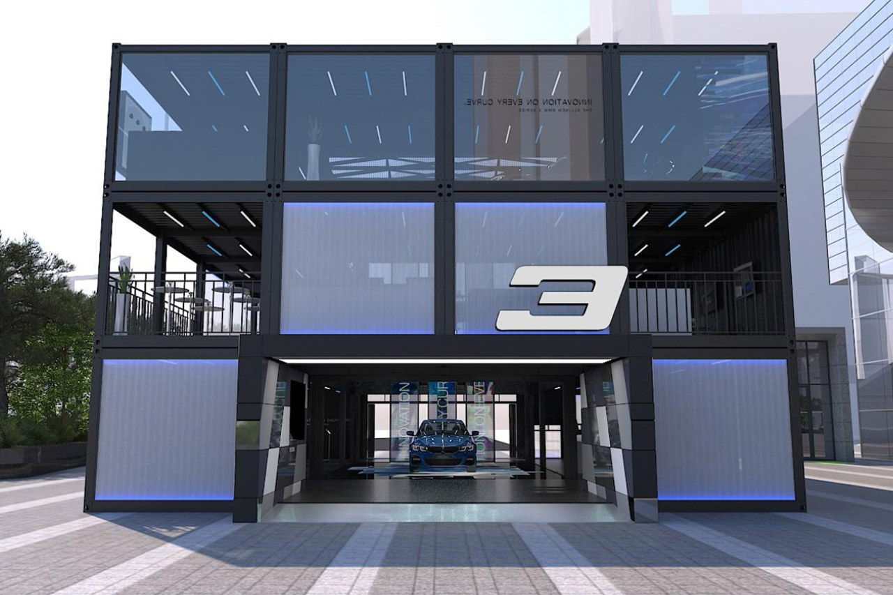 사진-BMW 뉴 3시리즈 드라이빙 큐브