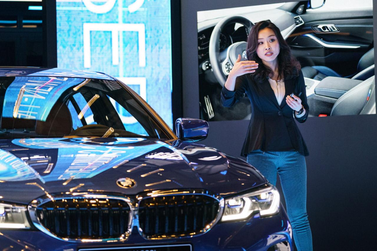 사진 - BMW 뉴 3시리즈 인테리어 담당 김누리 디자이너 (2)