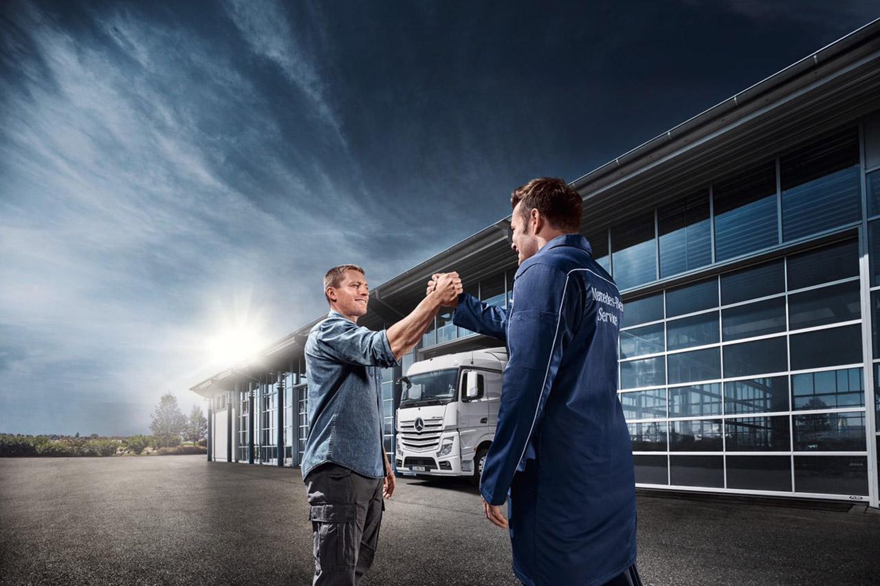 사진1-메르세데스-벤츠 트럭, 대학생 대상 정비 전문가 양성 프로그램 AMT 트럭 1기 모집