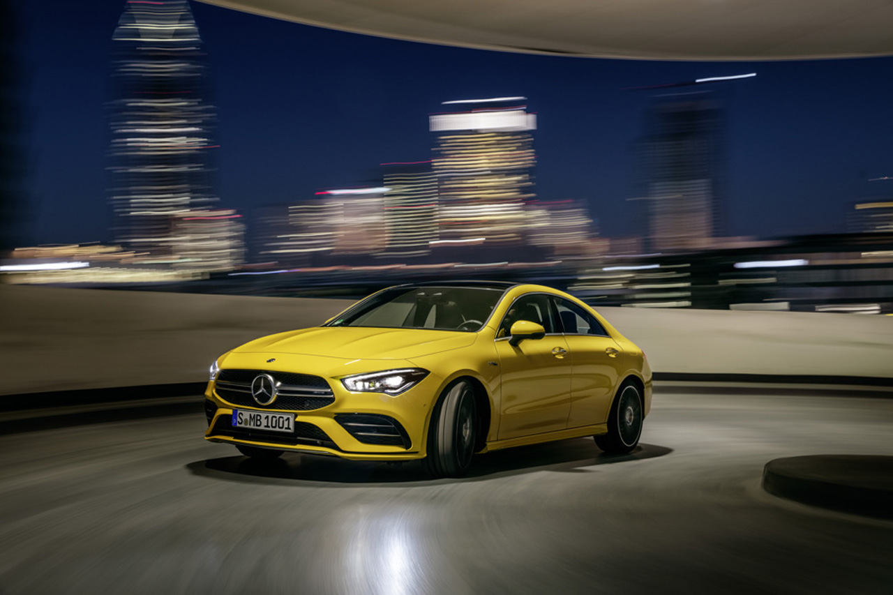 Mercedes-AMG CLA 35 4MATIC (2019)