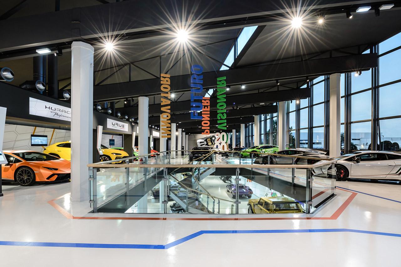 [참고사진] 람보르기니 박물관 기술의 박물관 무데테크로 새롭게 탈바꿈 (4)