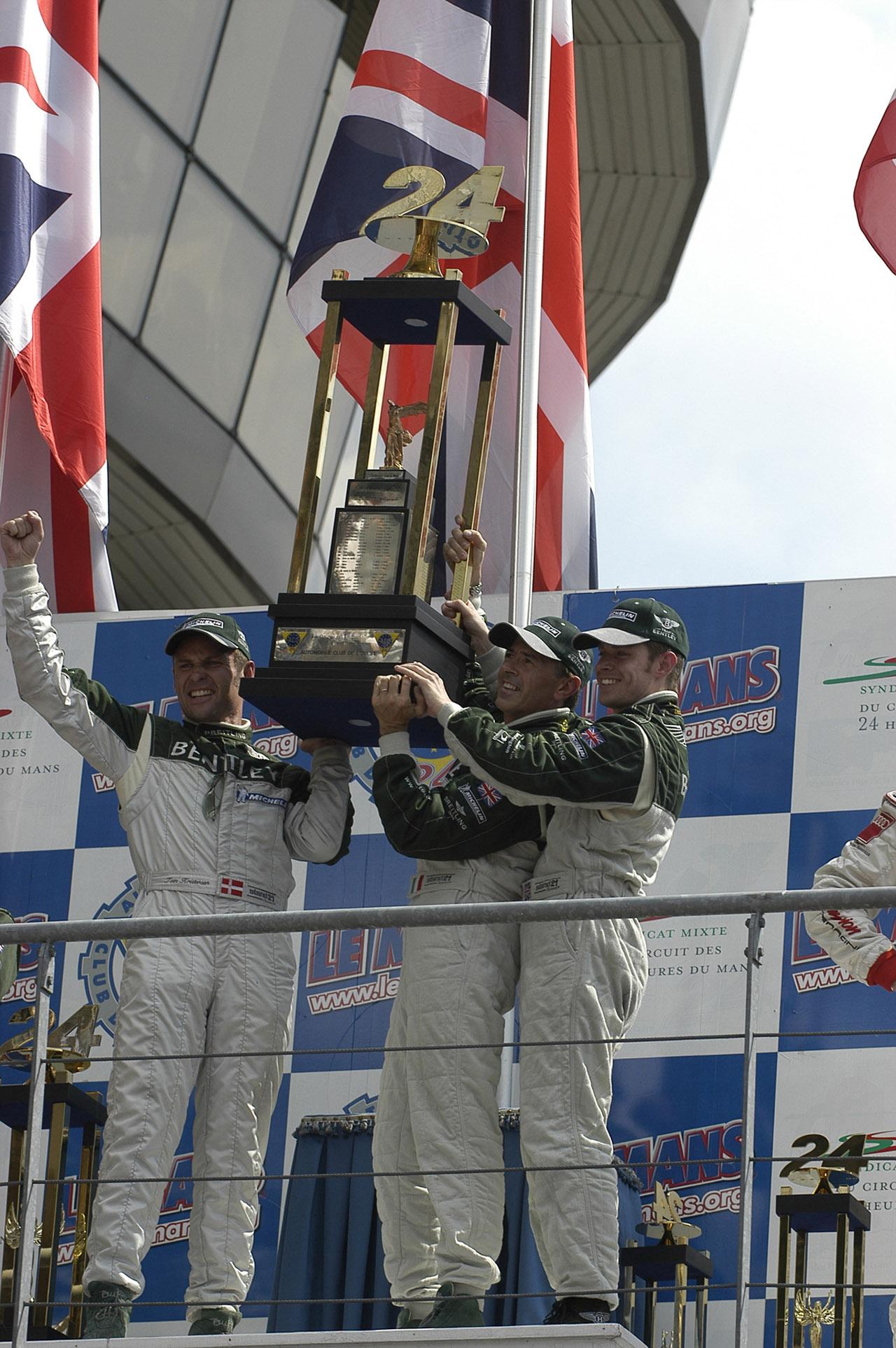 [참고사진] 2003년 벤틀리 르망 24시 우승 당시 사진