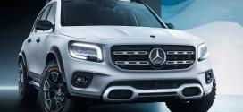 메르세데스-벤츠, 상하이 모터쇼에서 7인승 소형 SUV 'GLB 컨셉' 공개
