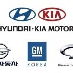 4월 국산차 판매 실적, 현대차와 한국 GM 호조