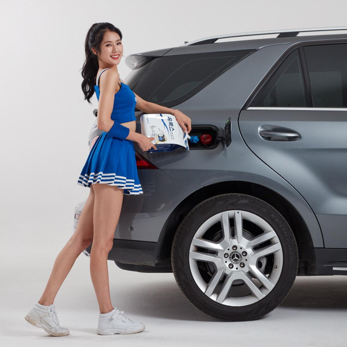 유록스, 치어리더 박기량과 함께 새로운 광고 제작 (2)