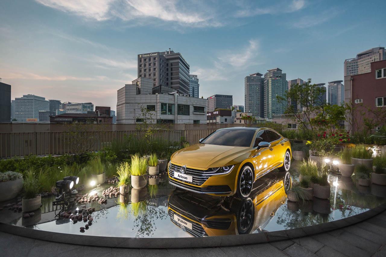 [참고사진]폭스바겐코리아 자동차 브랜드 최초로 복합문화공간 피크닉(piknic)과 콜라보레이션 실시_폭스바겐 아테온 가든(1)