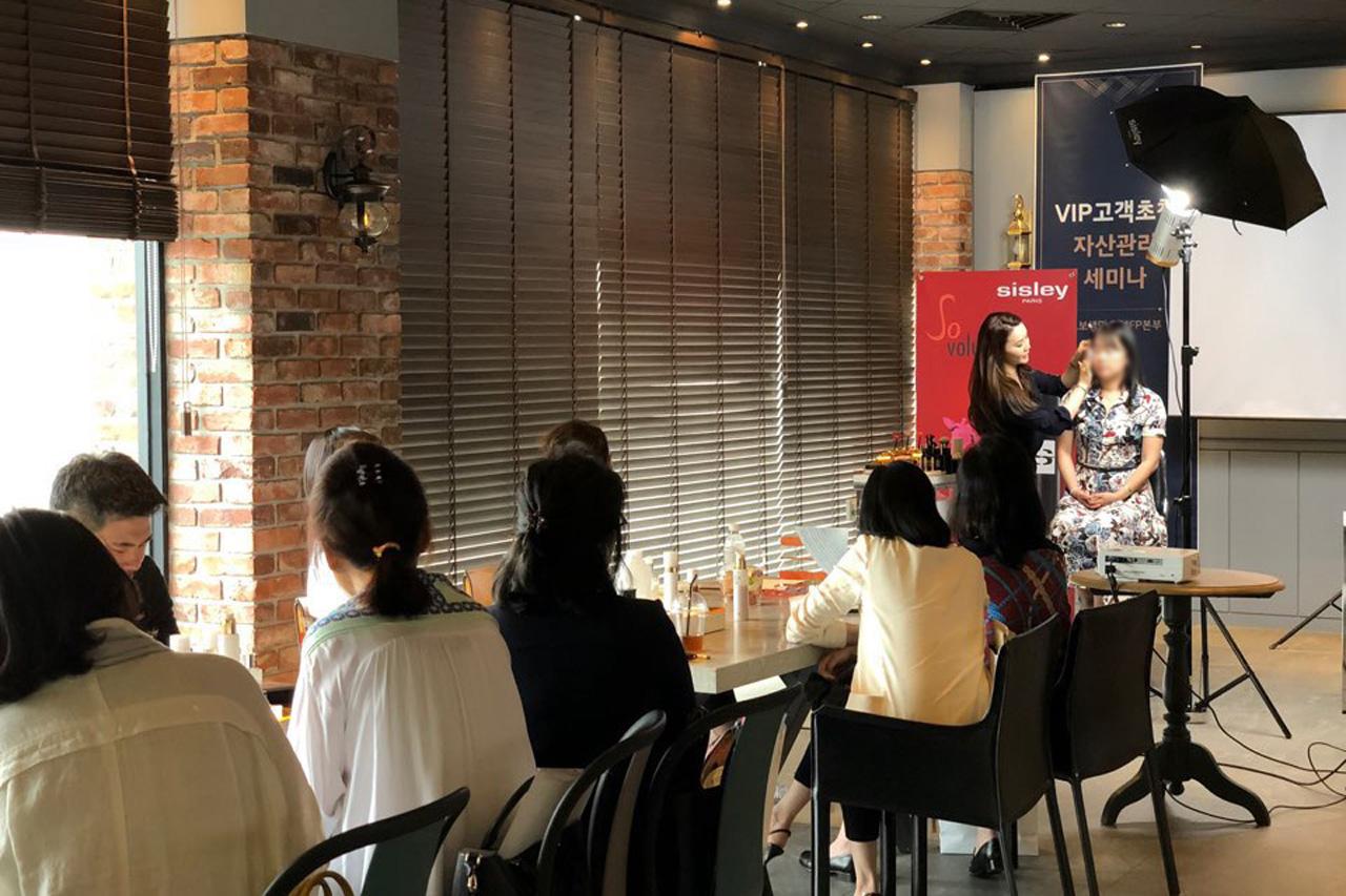 [참고사진] 와이즈오토, VIP 고객 대상 특별 자산관리 & 뷰티 세미나 성료 (3)