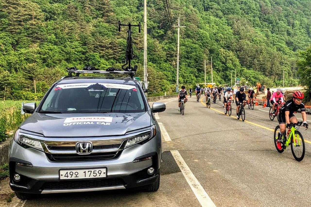 [혼다] 2019 설악그란폰도 공식 운영 차량 지원_05