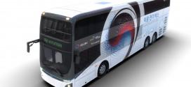 현대자동차, 이층 전기버스 최초 공개. 1회 충전으로 300km 주행