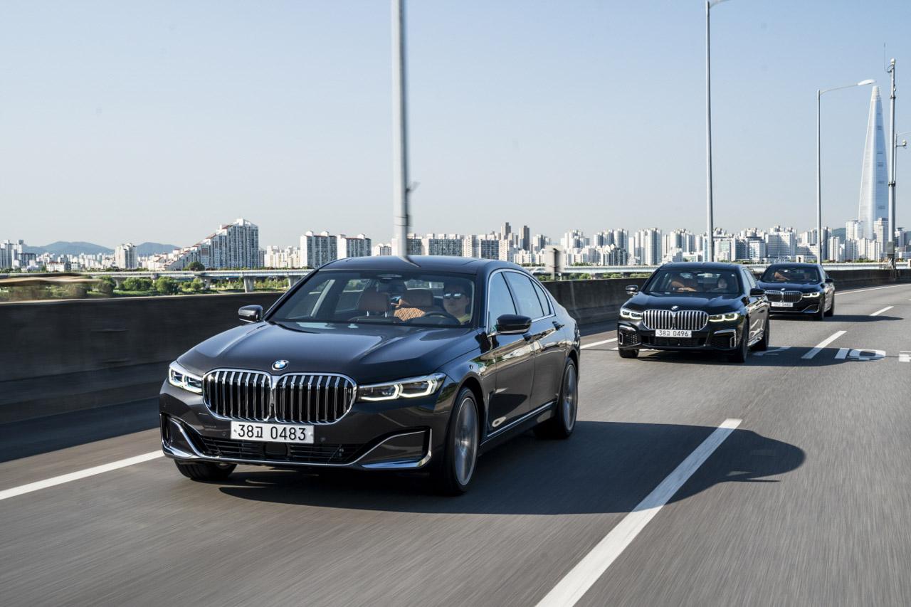사진 - BMW 뉴 7시리즈 주행 (1)