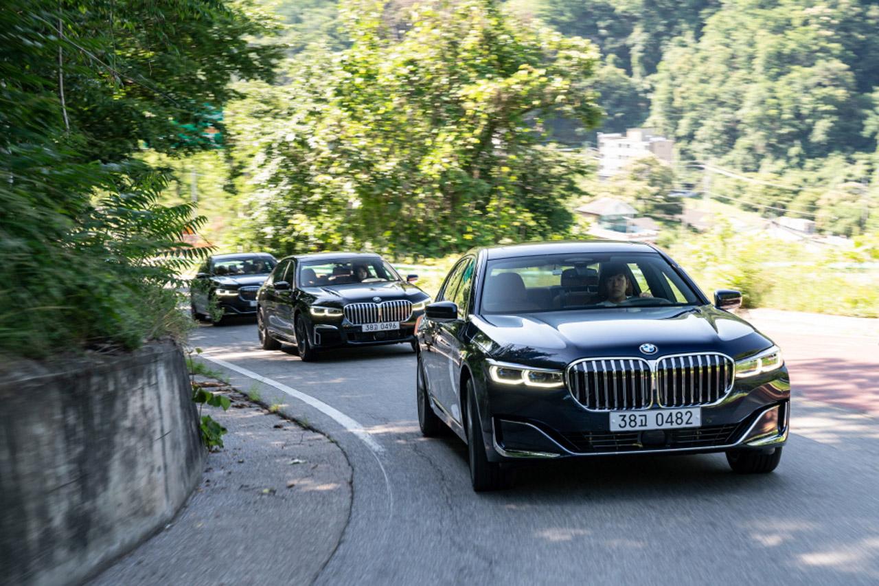 사진 - BMW 뉴 7시리즈 주행 (2)