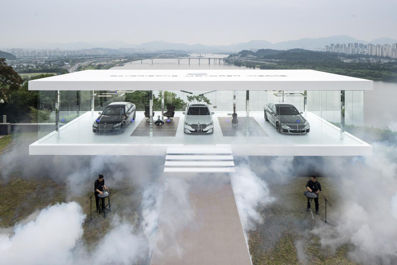 사진 - BMW 뉴 7시리즈_파빌리온 전시 (2)