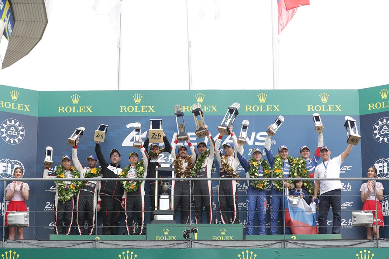 토요타 가주 레이싱, 르망 24시간 레이스서 2년 연속 우승 (1)