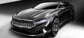 """'K7 프리미어'로 이름 확정하고, 신형 K7 디자인 랜더링 공개, """"그랜저 당연히 잡는다!"""""""