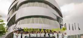 메르세데스-벤츠 사회공헌위원회, 제10기 모바일 아카데미 우수 학생, 독일 본사 탐방 프로그램 성료