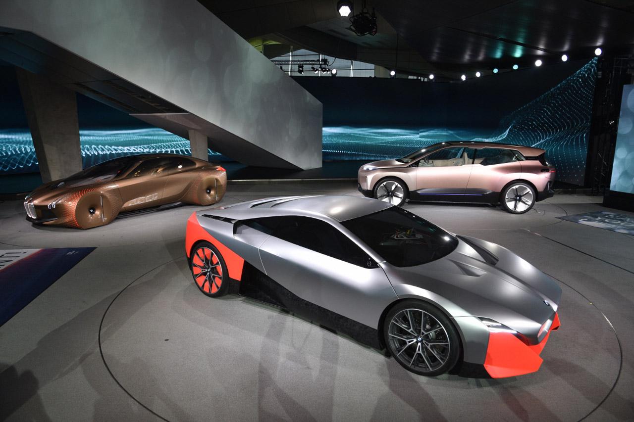 사진4-BMW 그룹 Vision M Next, NEXT100, iNEXT